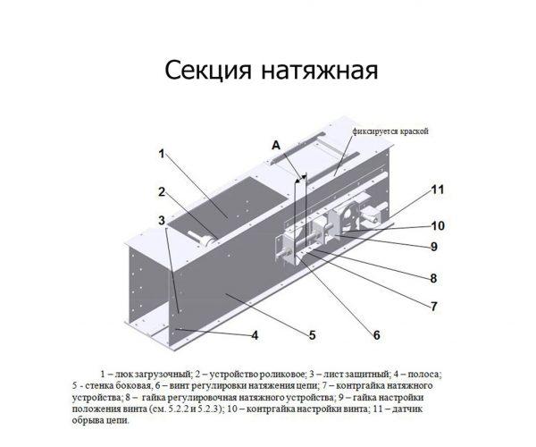 Секция-натяжная
