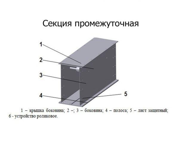 Секция-промежуточная